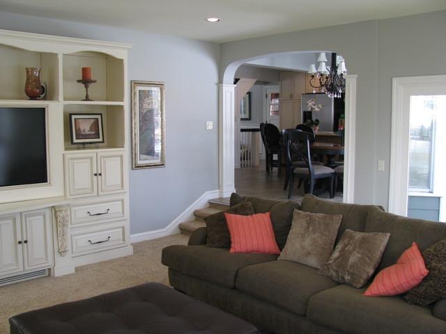 Home Remodel & Addition modern-living-room