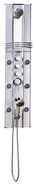 Ariel A112 Aluminum Shower modern-showers