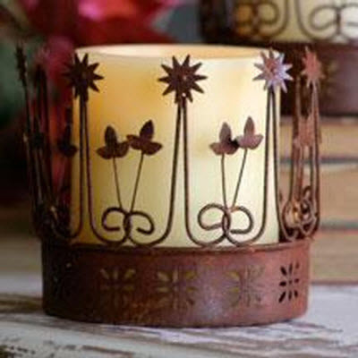 Are Naturals traditional candles and candle holders