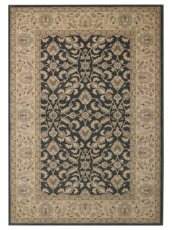 Serene Inspirations Classic rug in Charcoal Grey - Introducing traditional, transitional and contemporary flair, Serene Inspirations steps onto the scene with a little something for everyone. Subtle and spa toned, we love the soft and liveable color spectrum.