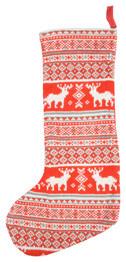 Scandi-Style Christmas Stocking traditional-holiday-decorations