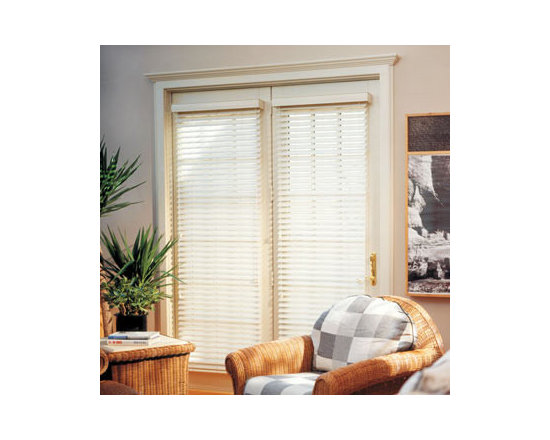 Comfortex - Comfortex Woodwinds Reed 2-inch Faux Wood Blinds - This collection of painted whites and off-whites are a traditional favorite - perfect for kitchens, bathrooms or throughout your home.