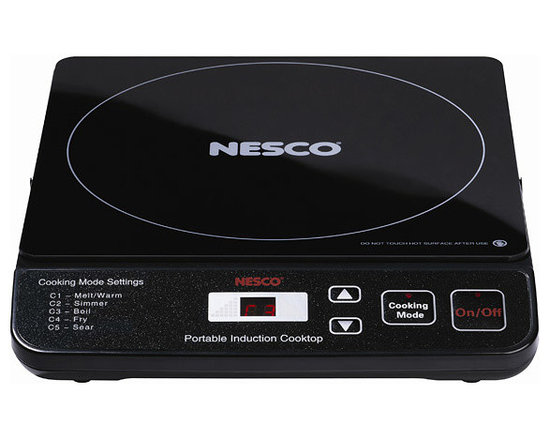 Nesco - Nesco PIC-14 Portable 1500-Watt Induction Cooktop - This Nesco Induction Cooktop provides the best in cooktop performance,safety and efficiency.