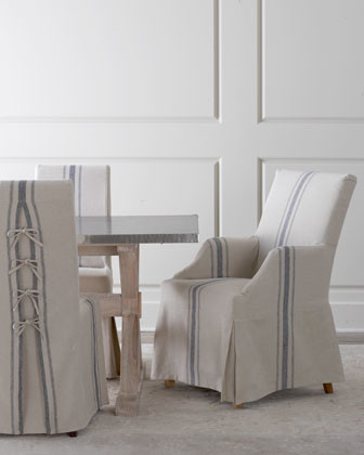 contemporary dining chairs and benches by Horchow