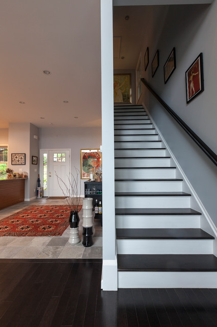 Open Space Interior traditional-entry
