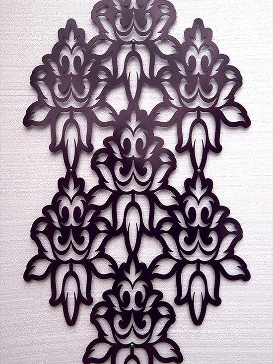 Brocade Panel No. 4601 in Powder Coated Aluminum -