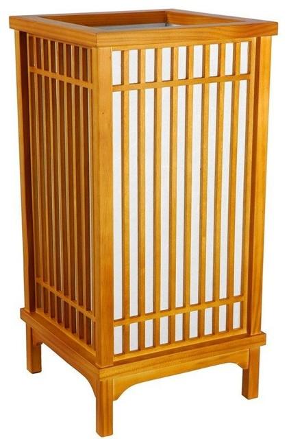 "18"" Nikko Lamp - Honey modern-table-lamps"