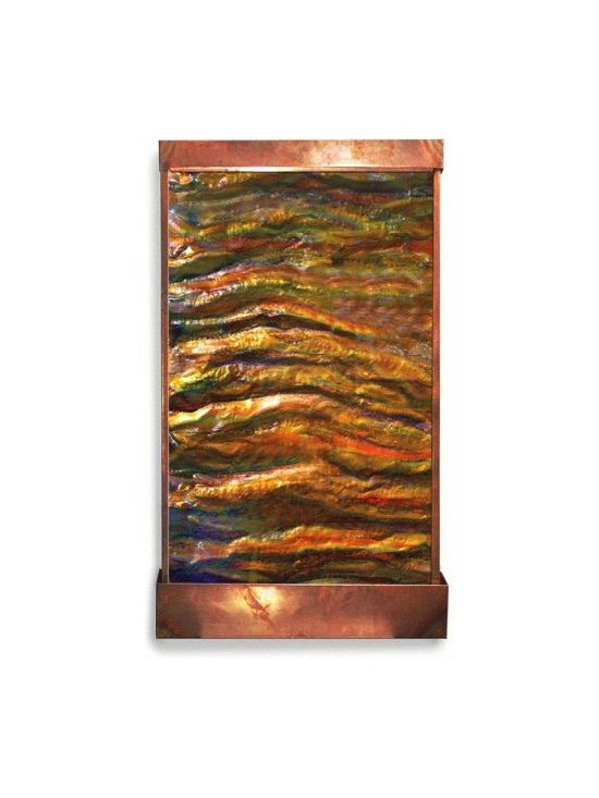 Hand Painted Wall Water Features -
