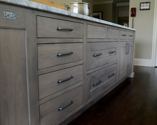 grey stained cabinets home design ideas pictures remodel