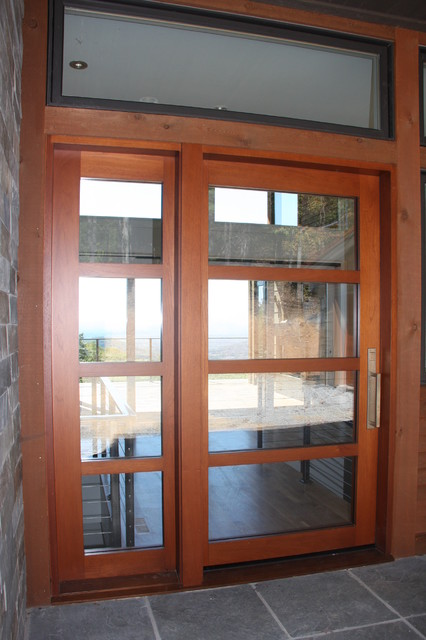 Contemporary front doors for Contemporary entry doors