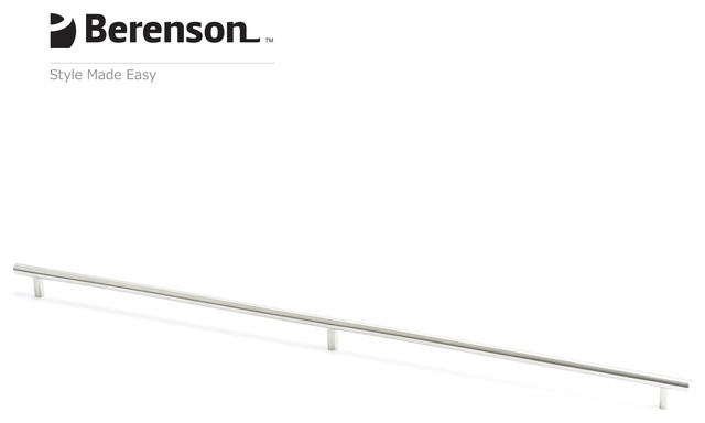 7067-9SS-C Stainless Steel Appliance Pull by Berenson Hardware modern-cabinet-and-drawer-handle-pulls