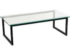 Glass Coffee Table contemporary-coffee-tables
