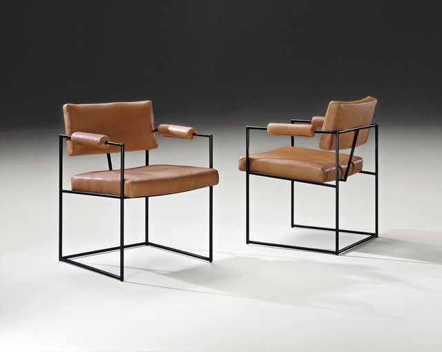 Design Classic 1188 Dining Chairs By Milo Baughman From