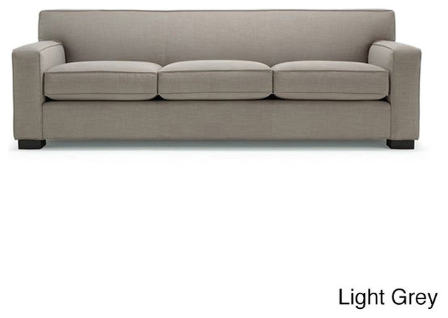 cassandra premium linen down wrapped 90 inch sofa