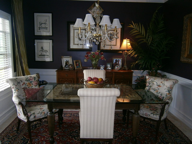 dining room table eclectic