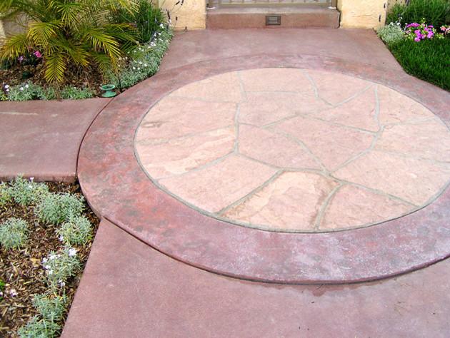 Brick and Flagstone craftsman-floor-tiles