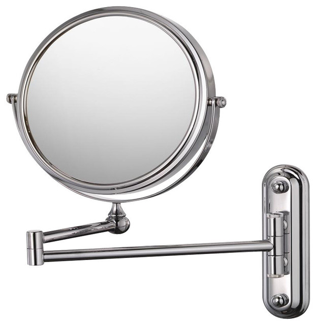 Mirror Image 20644 Wall Mirror Chrome contemporary-bathroom-mirrors