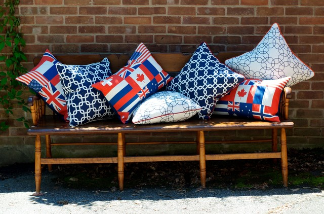 KTH Summer Pillow Collection contemporary-decorative-pillows