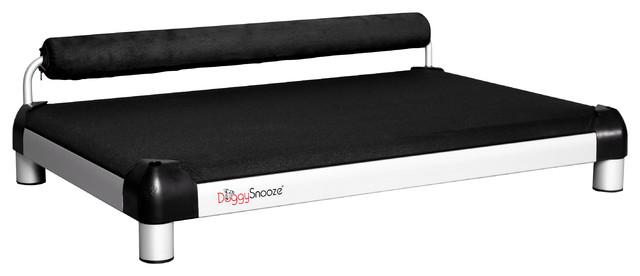 snoozeSleeper, 1 Bolster Black modern-pet-beds