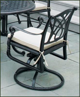 Grand Terrace Swivel Rocker rocking-chairs
