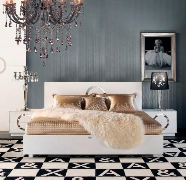 Armani Xavira Bedroom Set In White Modern New York By TheFur