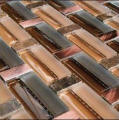 The Wow Factor of Glass Tile modern-tile