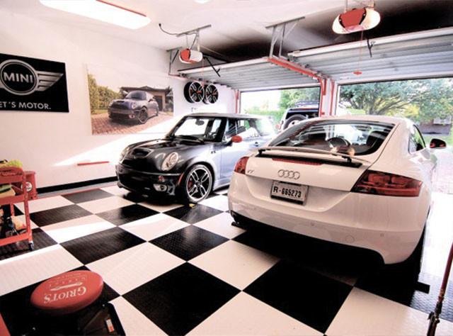 RaceDeck Garage Flooring Ideas Cool Garages With