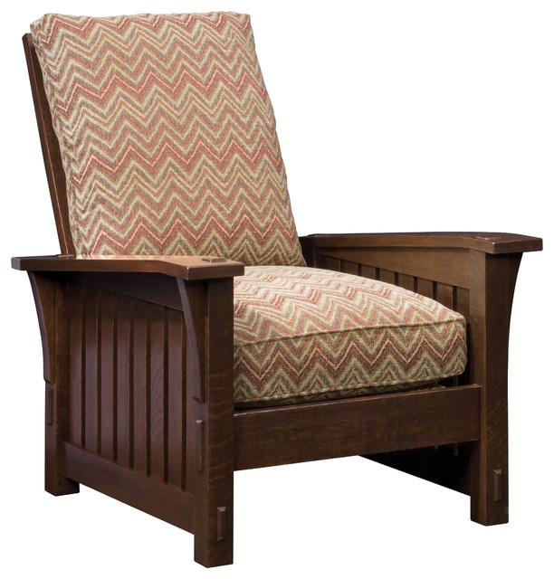 Stickley Slatted Loose Cushion Morris Chairs 89 410 LC
