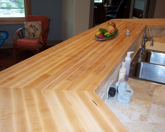 WR Woodworking - Maple Edge grain wood Bar tops - hard maple, edge grain, bar top.  wrwoodworking.com