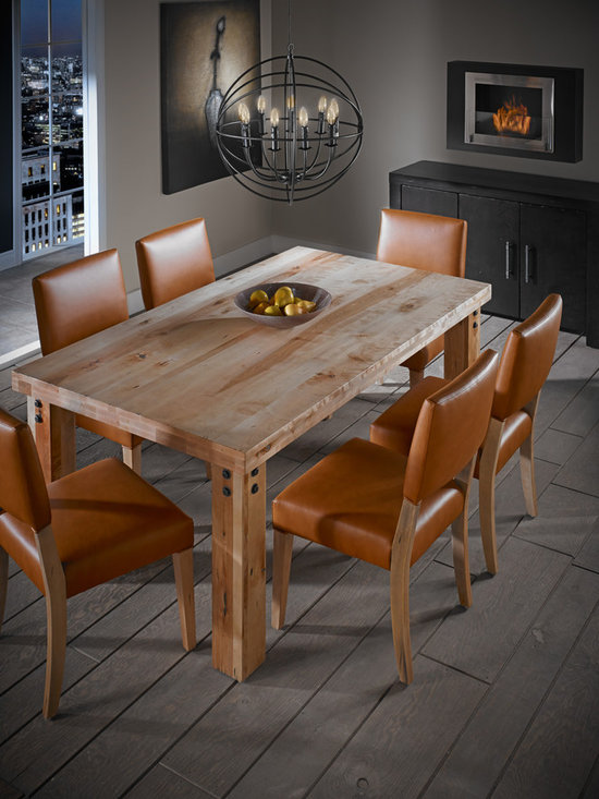 LOFT Collection by Canadel - Rectangular table: TRE 0-4272-02NAR-PK-NF