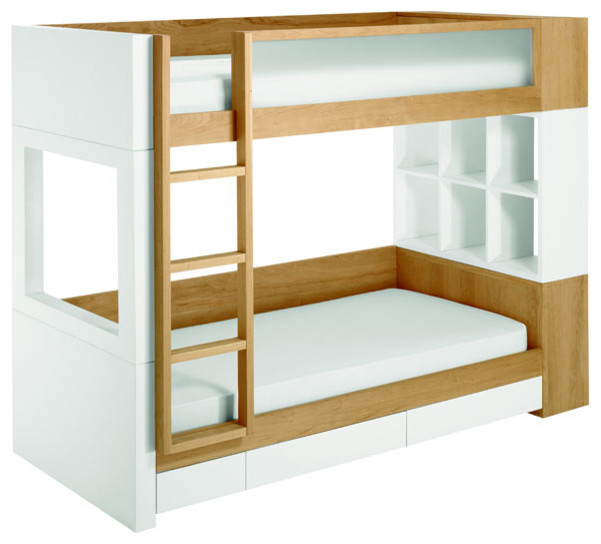 Nurseryworks - Duet Bunk Bed modern-kids-beds