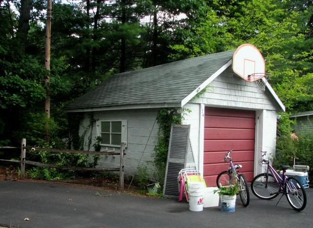Garage renovation, Wrentham, MA traditional