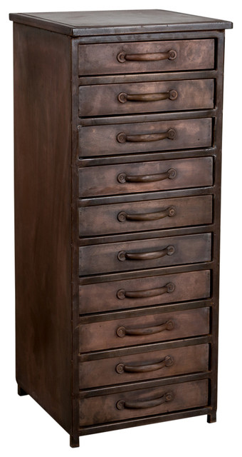 Declan 10 Drawer Chest industrial-dressers