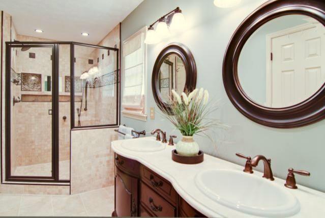 Tranquil Master Bathroom