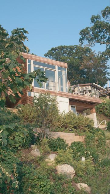 Port Washington Residence contemporary-exterior