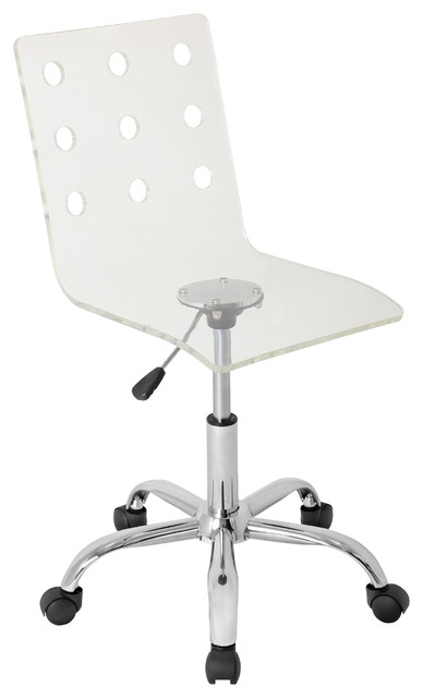 Swiss Acrylic Office Chair - contemporary - task chairs - chicago