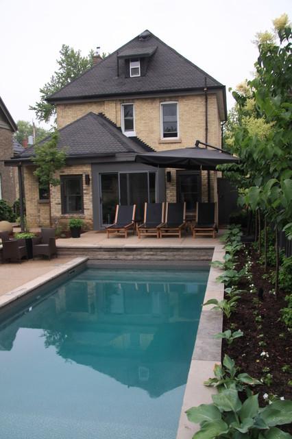 Old North Backyard traditional-pool