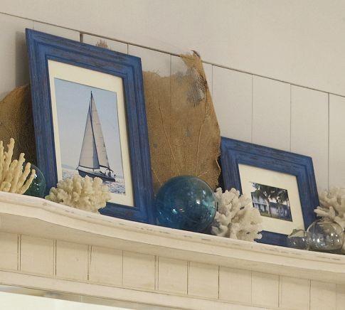 Weathered Blue Frames traditional-frames