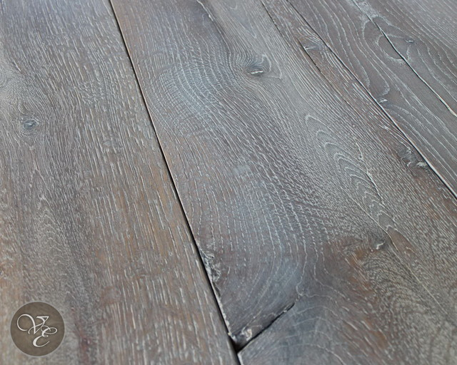 reclaimed beam cut French oak fumed and lyed mediterranean
