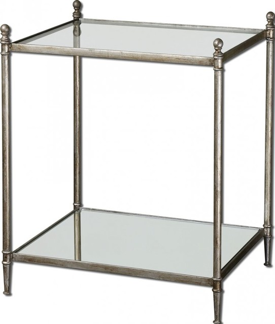 www.essentialsinside.com: gannon mirrored glass end table contemporary-bar-tables