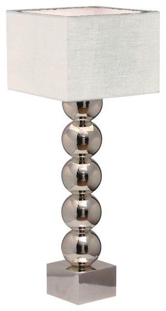 Brandon Table Lamp, White modern-table-lamps
