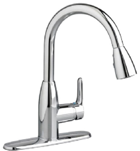 American Standard 4175.300.002 Colony Soft Pull-Down Kitchen Faucet, Chrome modern-kitchen-faucets
