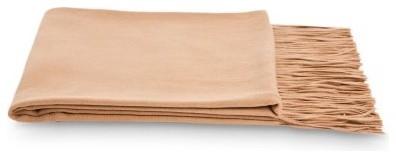 Cashmere/Fine Wool Waterwave Throw modern-bedding