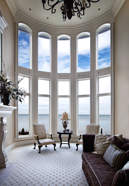 Window treatment curved window treatments inspiring for Curved windows