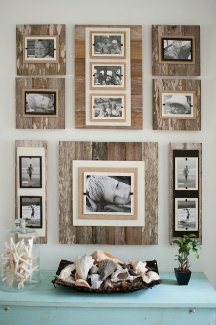 reclaimed wood frames rustic picture frames atlanta by iron