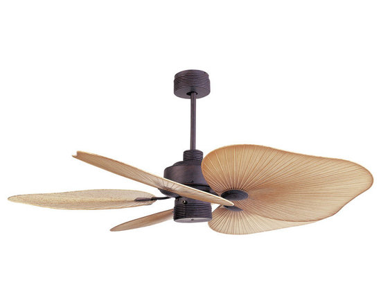 "Ellington Fans - Ellington Fans TAH52CS5 Copperstone Outdoor Outdoor 5 Blade 52"" - Ellington Fans Tahiti Outdoor 5 Blade 52"" Ceiling FanGive a sophisticated presentation to your room with the Tahiti Ceiling Fan from the Outdoor Collection by Ellington Fans. This fan is guaranteed to create the appearance that you ve been looking for.When you step outside, step into paradise. Enjoying the crisp air of a fall evening or sipping coffee during a brilliant sunrise? Our outdoor collection will help you truly savor each one of those precious moments in style. Ellington Fans Tahiti Features:Lifetime WarrantyLight Kit Adaptable  (Not Included) Ellington Fans Tahiti Specifications:CFM: 2726Watts: 52Height from Blades: 16""Height from Ceiling: 16""Light Kit Adaptable: YesLight Kit Included: NoNumber of Blades: 5Blade Span: 52""Control Type: Pull ChainControl Type: RemoteRemote Included: NoMount Type: Downrod OnlyMotor Size: 172mm x 20mmEllington Fans Tahiti Blade Finishes:  Caribbean Brass Finish  - Medium Palm Blades Copperstone Finish  - Medium Palm Blades Matte White Finish  - Medium Palm Blades"