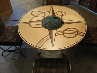 Furniture with carving and marquetry - Traditional - Dining Tables - omaha - by Zongkers Custom ...