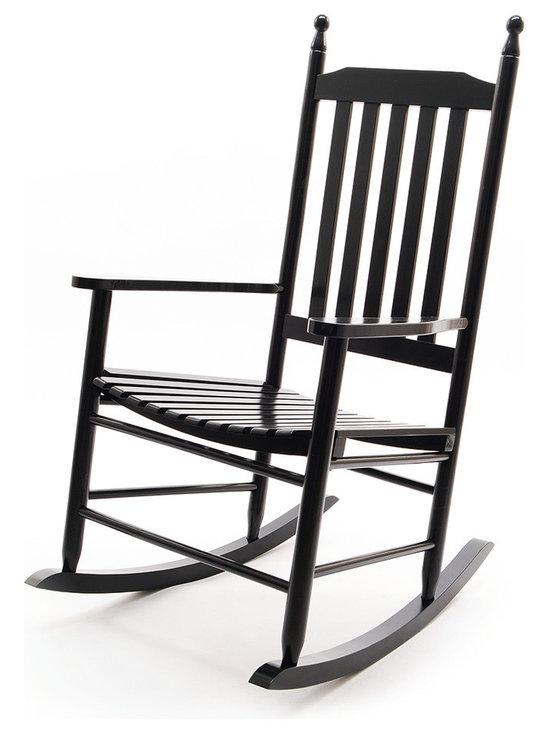 Anouk Rocking Chair - Black -