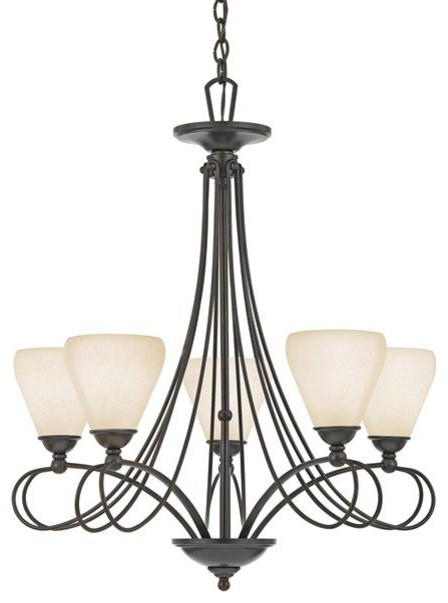 5 Light Chandelier modern-chandeliers