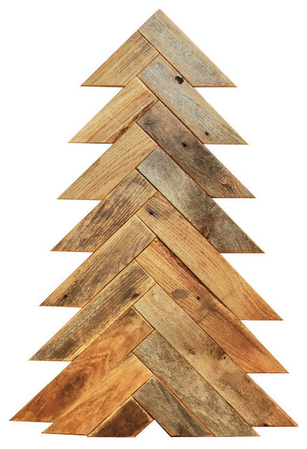 Herringbone barn wood christmas tree large rustic Christmas trees made out of wood